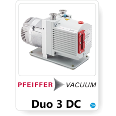 Pfeiffer Vacuum Duo 3 DC