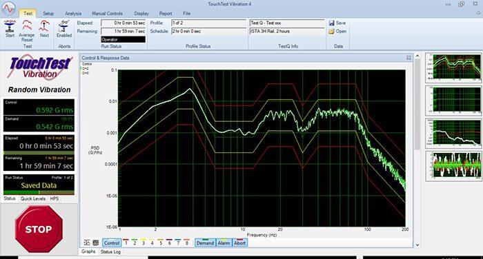 Lansmont TouchTest Vibration 4