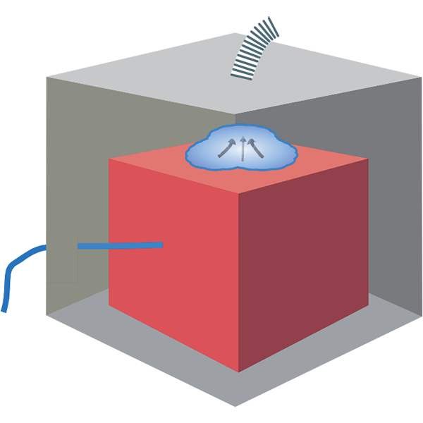 Вакуумный метод контроля герметичности