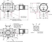 Dimensions Okta 4000 ATEX II 3G IIC T3 X