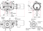 Dimensions Okta 300 - 600