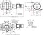Габаритные размеры 4000 ATEX II 3G IIC T3 X