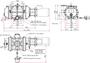 Габаритные размеры 500 ATEX II 3G IIC T3 X