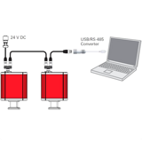 Типичные схемы подключения вакуумметров - серия DigiLine