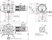 Dimensions Okta 1000 ATEX II 3G IIC T3 X